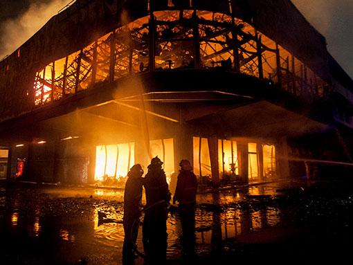 Incendio Cancún